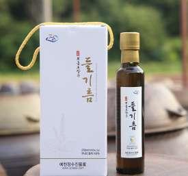 [회룡포장수진품] 회룡포 장수들기름250ml