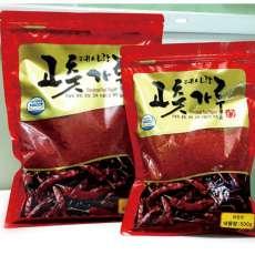 [예천보호작업장] HACCP인증/국산 고춧가루(보통매운맛) 500g/1kg