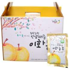[참한농원] 유기농인증 순수배즙 1박스 (50봉)