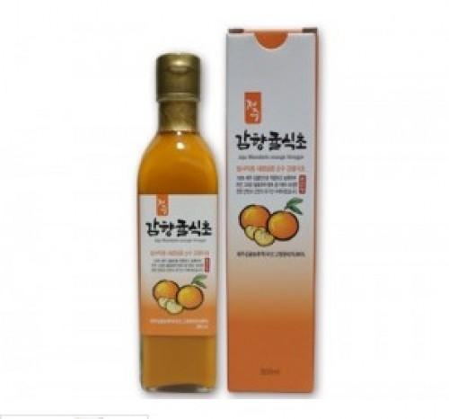 [초산정][전통식품인증] 감향귤식초 300ml 1병