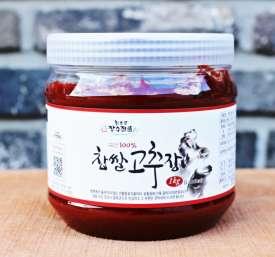 [회룡포장수진품] 고부의 손맛이 담긴 전통 찹쌀고추장 1kg (찹쌀/고춧가루/자가생산)