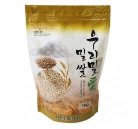 [우리밀애] 국산 도정안한 통밀쌀(생밀) 1kg 새싹용