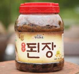 [회룡포장수진품] 고부의 손맛이 담긴 시골된장, 전통된장 3kg (국산콩100% 사용)