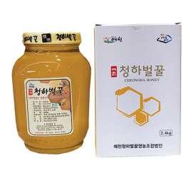 [2021년산햇꿀출시] 청하벌꿀(아카시아꿀)2.4kg