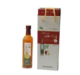[예천두레원] 천연발효 100% 사과식초(1병 500ml)
