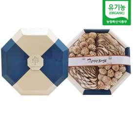 [갓속농장] 유기농표고버섯 선물세트(백화고400g, 슬라이스230g) (설날선물,명절선물세트)