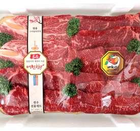 [예천축산농협] HACCP 예천한우구이세트3호 1.4kg(꽃등심살,채끝살,부채살 혼합 1.4kg)