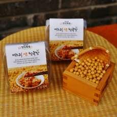 [회룡포장수진품] 전통방식 국산콩100% 무염 며느리생청국장 90g 12팩, 24팩