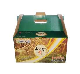 [우리밀애] 우리밀 세트1호 (밀쌀1kg+통밀가루2kg+백밀가루2kg)